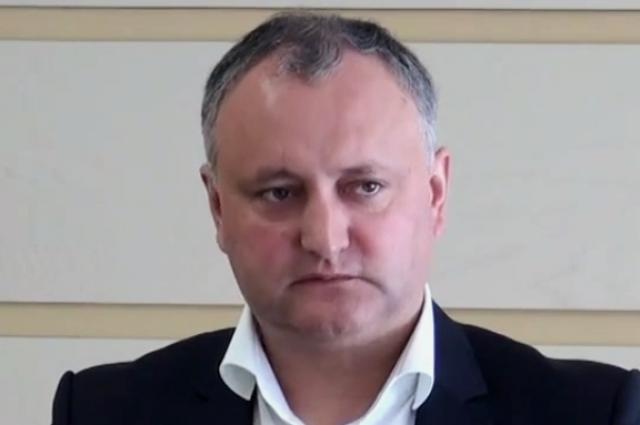 Срезиденции нового президента Молдавии сняли флагЕС