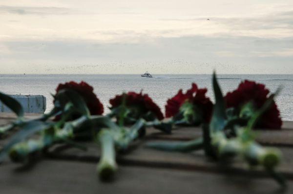 Цветы на набережной города Сочи.