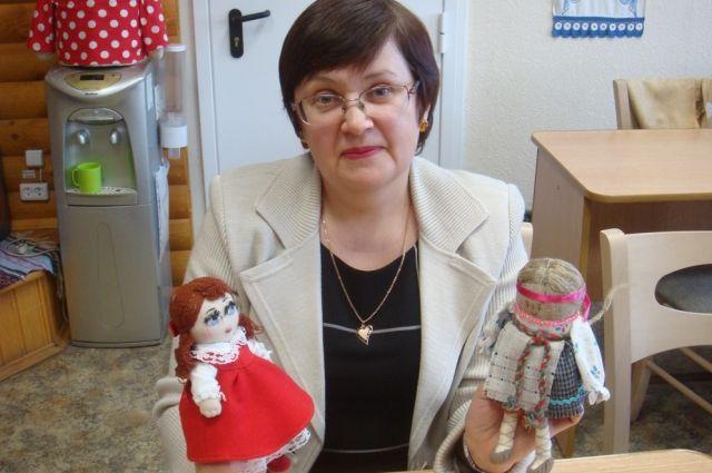 Светлана Витальевна освоила все технологии создания куклы.