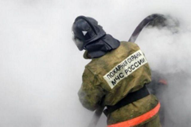 ВКрасноярске напристани горел катер