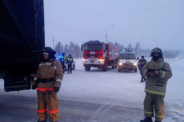 ВДТП на автотрассе Сургут-Салехард умер мужчина