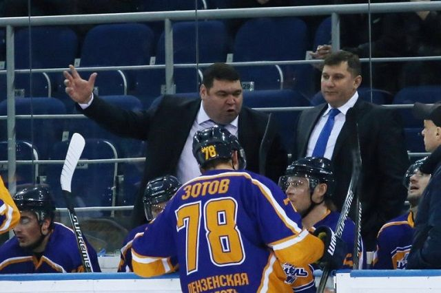 Воронежский «Буран» одержал победу вПензе