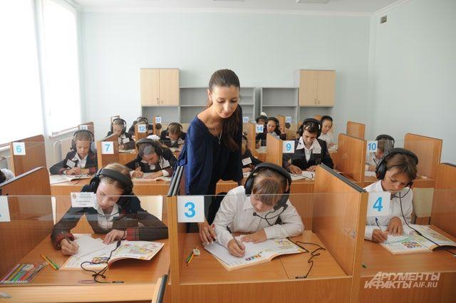 Московские школьники привыкли к тому, что классы отлично оборудованы техникой.