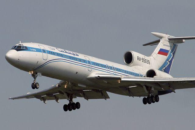 Ту-154.