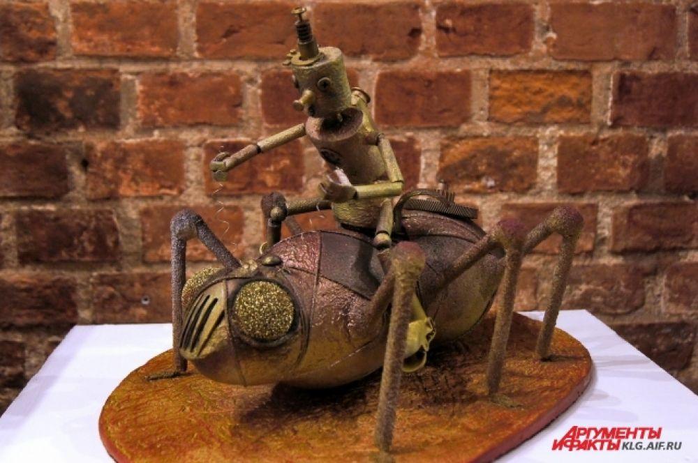 Коллекция кукол в стиле стимпанк сделана рукой калининградской художницы Светланы Клейн.