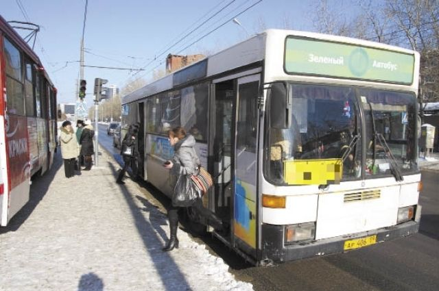 Работа общественного транспорта