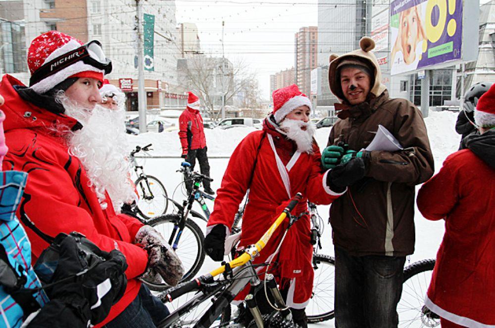 В велозаезде мог принять участие любой желающий