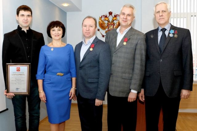 Специалисты ФНПЦ «Титан-Баррикады» удостоены государственных наград.