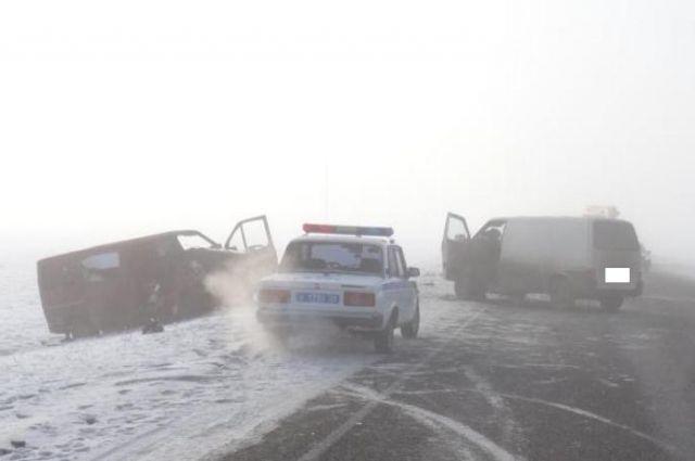 Пассажир маршрутки погибла вДТП наСтаврополье