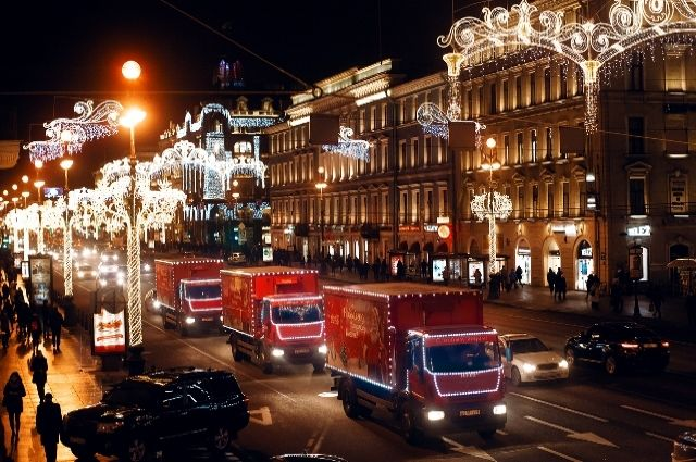 «Рождественский караван» Coca-Cola