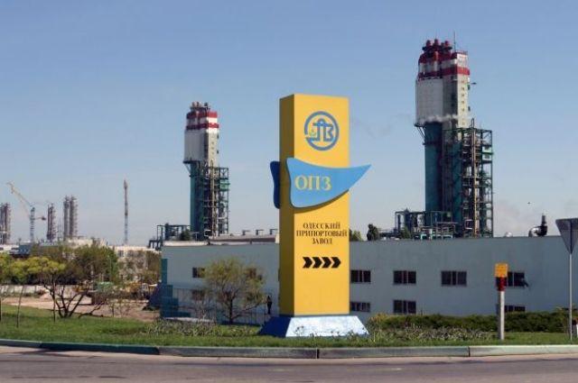 Одесский припортовый завод объявил овременной остановке производства