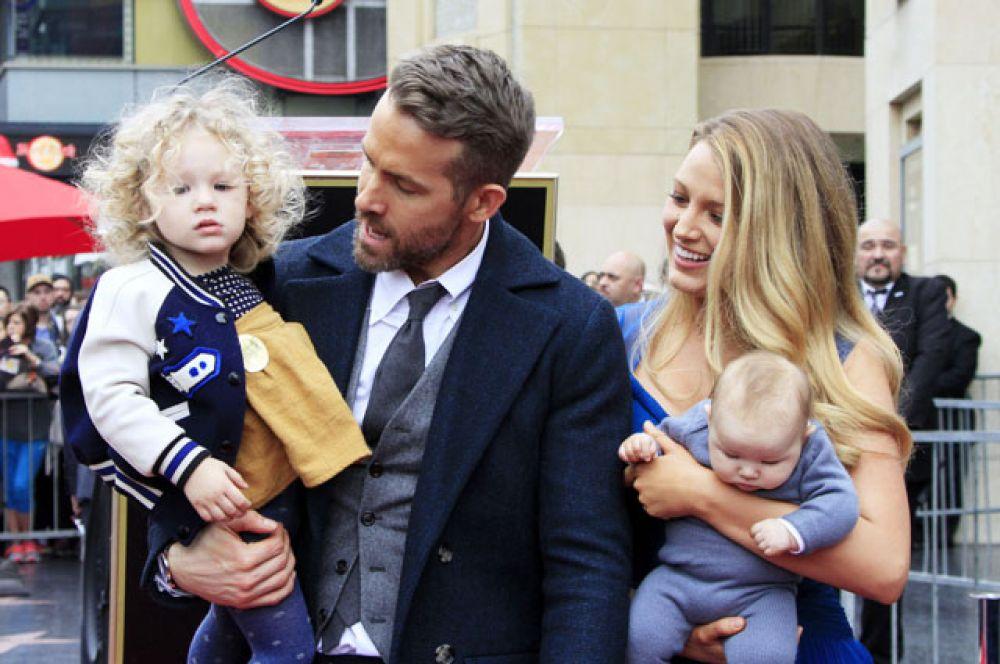 В сентябре актеры Блейк Лайвли и Райан Рейнольдс стали родителями во второй раз.