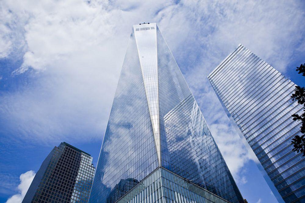 4 место. «Всемирный торговый центр 1» или Башня Свободы, Нью-Йорк, 541 метр.