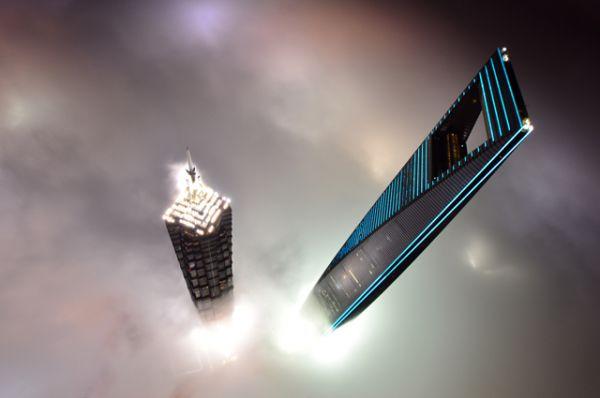6 место. «Шанхайский всемирный финансовый центр», 492 метра.