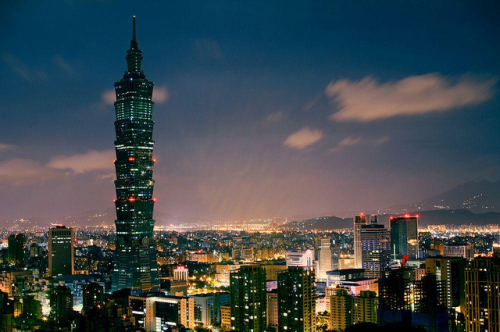 5 место. «Тайбэй 101», 508 метров. Было самым высоким офисным зданием в мире до постройки «Башни свободы» в Нью-Йорке.