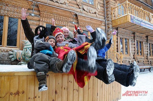 Усадьба Деда Мороза в Кузьминках.