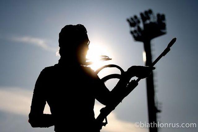 СМИ назвали имена отстраненных задопинг русских биатлонисток