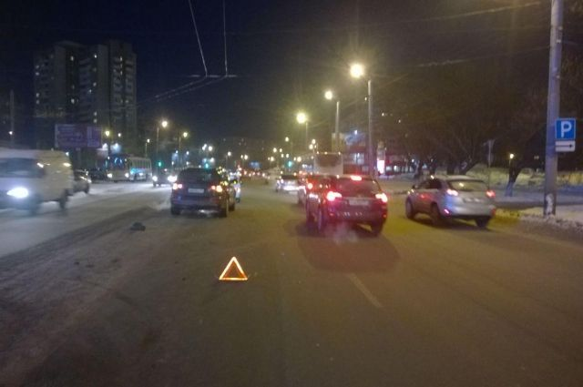 10-летний ребёнок попал под колёса иномарки вЧелябинске