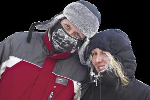 Обморожение может произойти не только на сильном морозе, но даже при нуле.