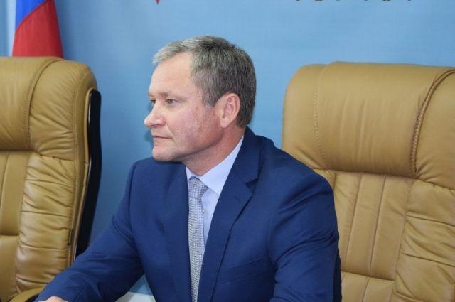 Губернатор Алексей Кокорин.