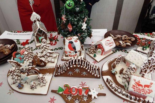 В Кузбассе выбрали лучший новогодний пирог.