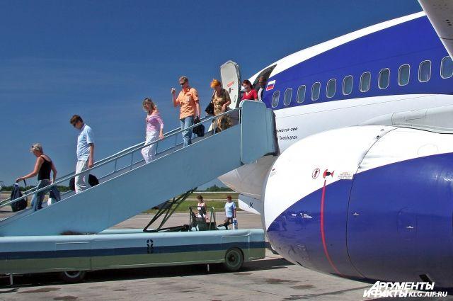 В Калининград из Москвы планируют запустить чартерные рейсы самолетов.