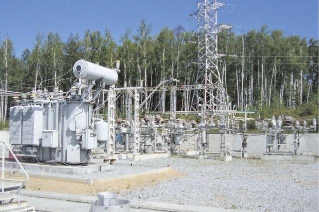 Подстанция компании «Энергия».