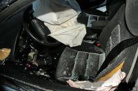 Полиция задержала калининградца, который попал ДТП на угнанном автомобиле.