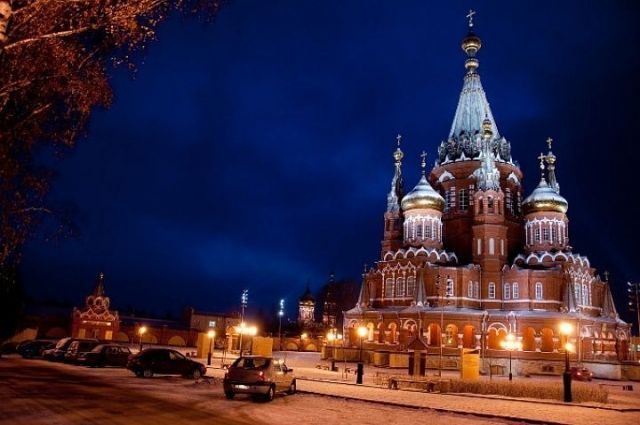 Рождественскую ночную службу владыка проведёт в Свято-Михайловском соборе Ижевска.