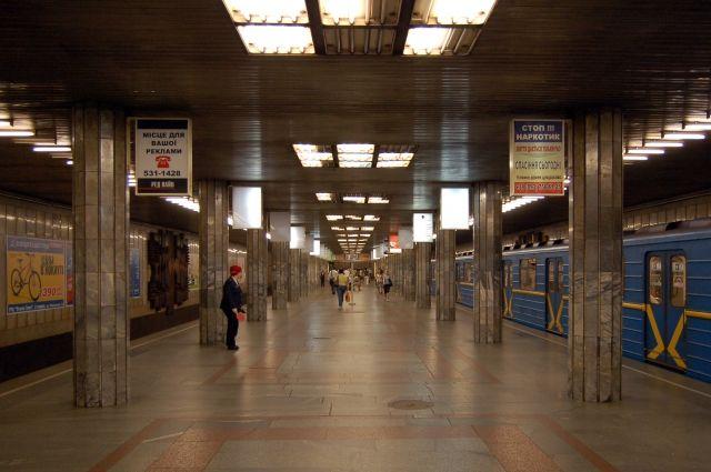 «Киевский метрополитен»: ВКиевсовете возникла идея переименовать станцию «Петровка» в«Почайну»