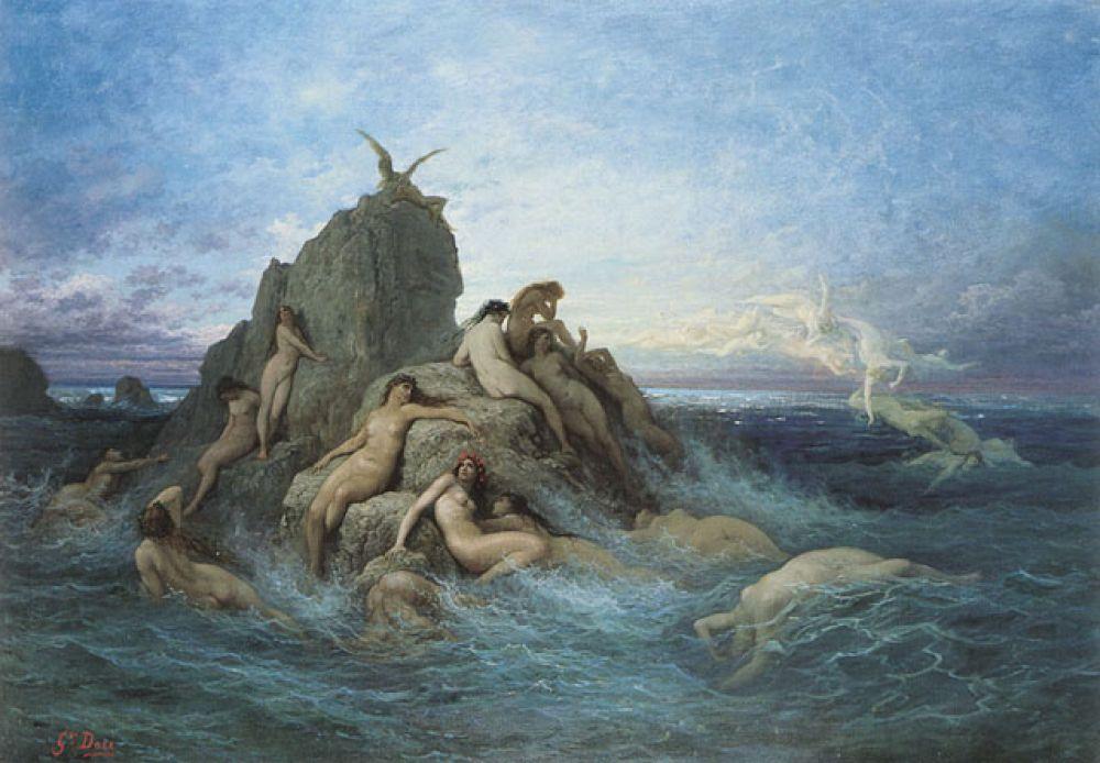 «Океаниды (морские наяды)»