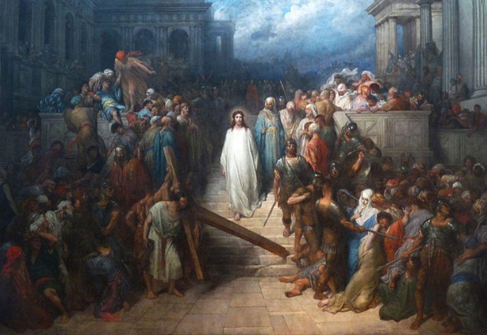«Христос, покидающий преторий»