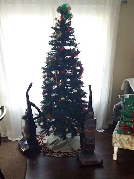Хорошо елку сохраняет страх