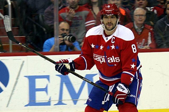 Гол ипередача Овечкина помогли «Вашингтону» обыграть «Нью-Джерси» вматче НХЛ