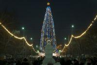 Главная городская ёлка ждёт омичей в парке им. 30-летия ВЛКСМ.