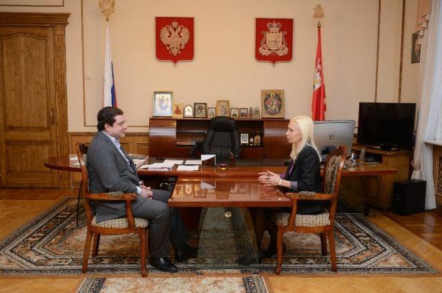 Илона Кротова покинула должность вице-губернатора Смоленской области