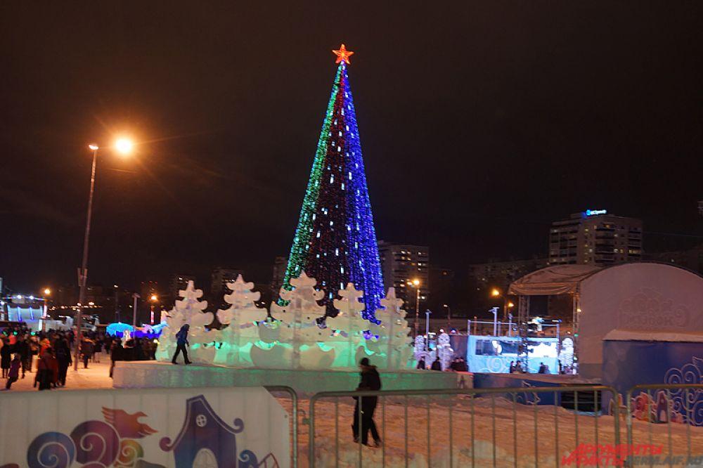 В праздники пермяков ждёт множество событий, которые будут проходить в ледовом городке.