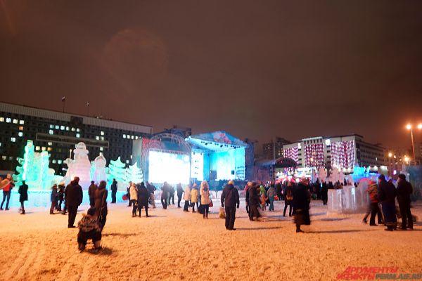 В этот раз развлекательный комплекс посвящён Году экологии в России.