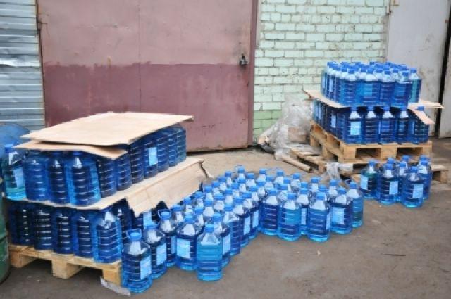ВНижегородской области изъяли жидкость с540-кратным превышением содержания метанола