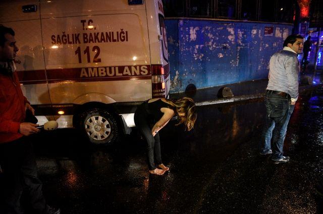 ВСтамбуле случилось вооруженное нападение наночной клуб: есть пострадавшие
