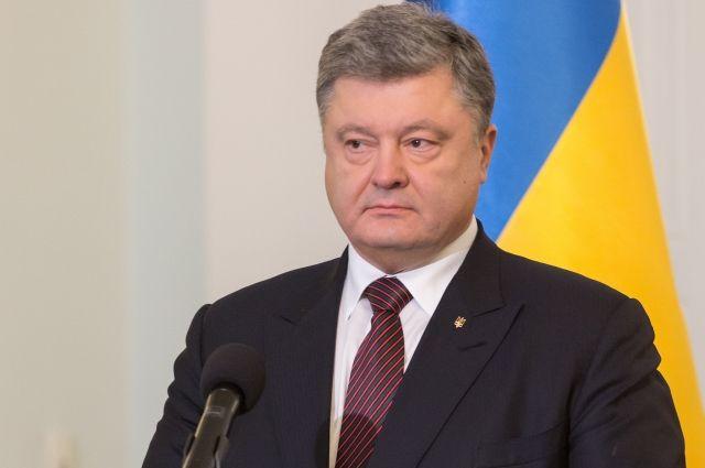 петр порошенко заявил временной украинской оккупации