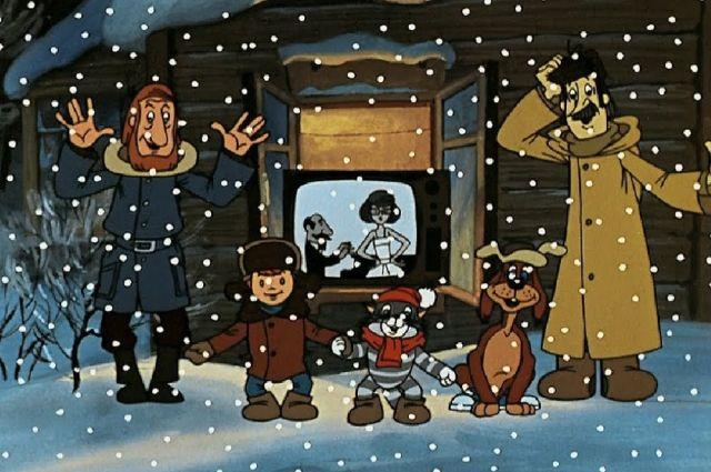 Новогодние приключения героев советских мультфильмов будут интересны и малышам, и их родителям.