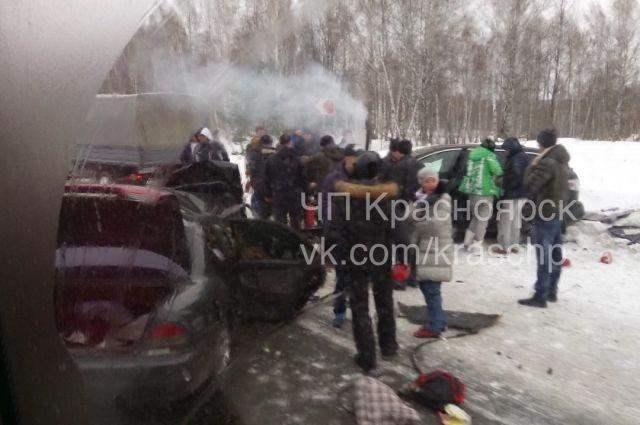 ДТП со смертельным исходом произошло в Манском районе.