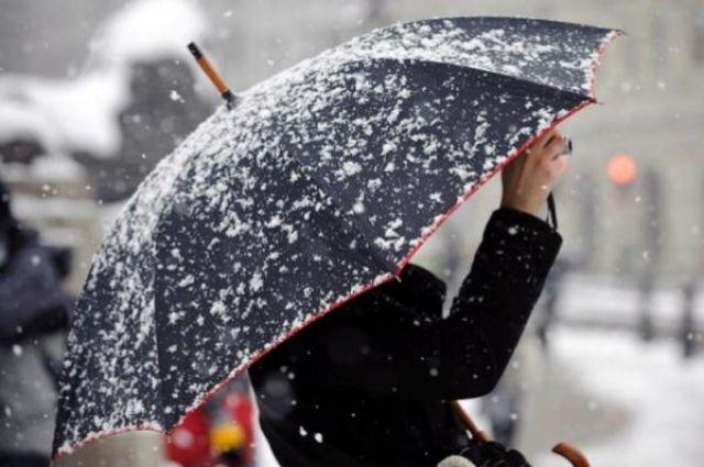 11:23 78  В Киеве сегодня ожидается мокрый снегКоммунальщики просят водителей быть осторожными из-за гололедицы
