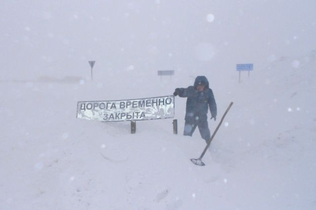 Дорогу Оренбург-Орск открыли для проезда— Движение восстановлено