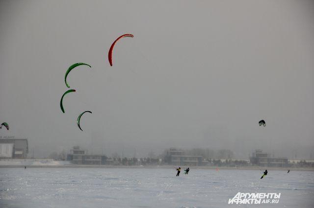 В очередной раз в Казани пройдет фестиваль сноукайтинга.