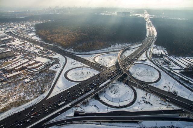 НаМКАД наюге столицы столкнулись 23 автомобиля
