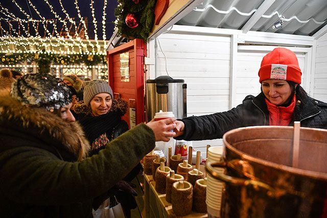 Рождественские фестивали в столице России посетили неменее 7-ми млн человек