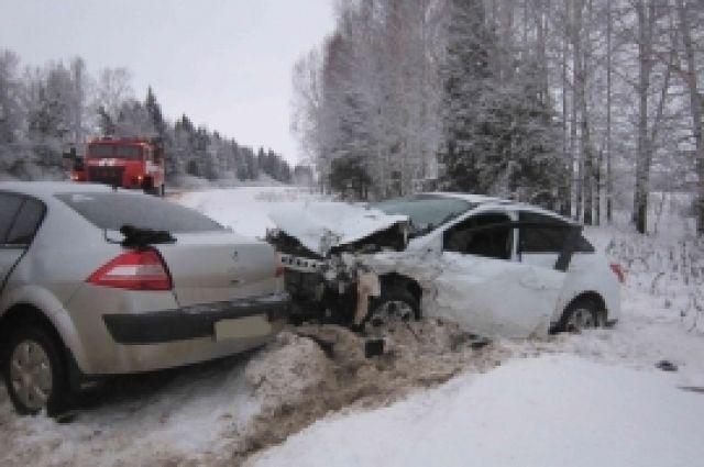 Один человек умер, 5 пострадали вДТП вНижегородской области