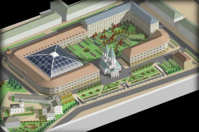 Проект восстановления Николо-Гостинодворской церкви.